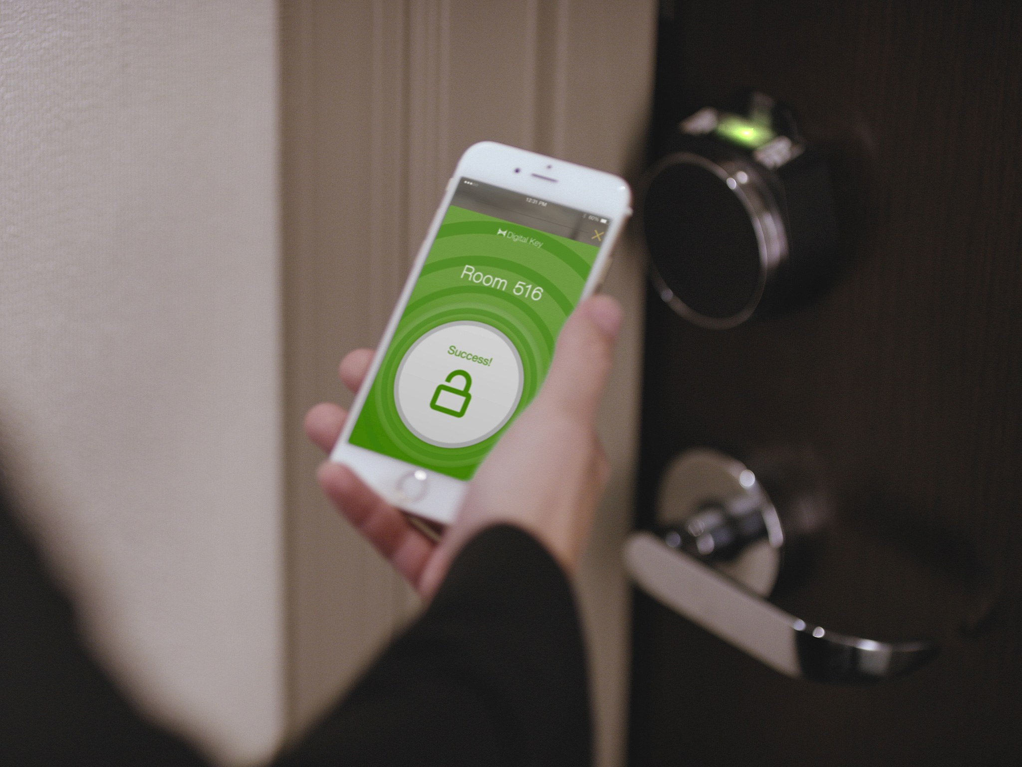 smartphone could be a key for Hilton's room
